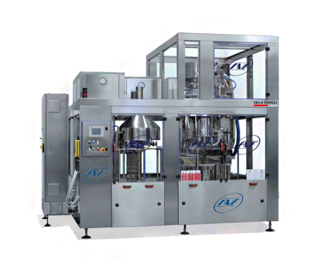 plastic and glass bottle filling machine