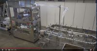 A new video: cosmetics bottling and packaging line