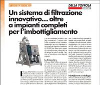 Della Toffola Group Beer Division - An article on Imbottlgliamento